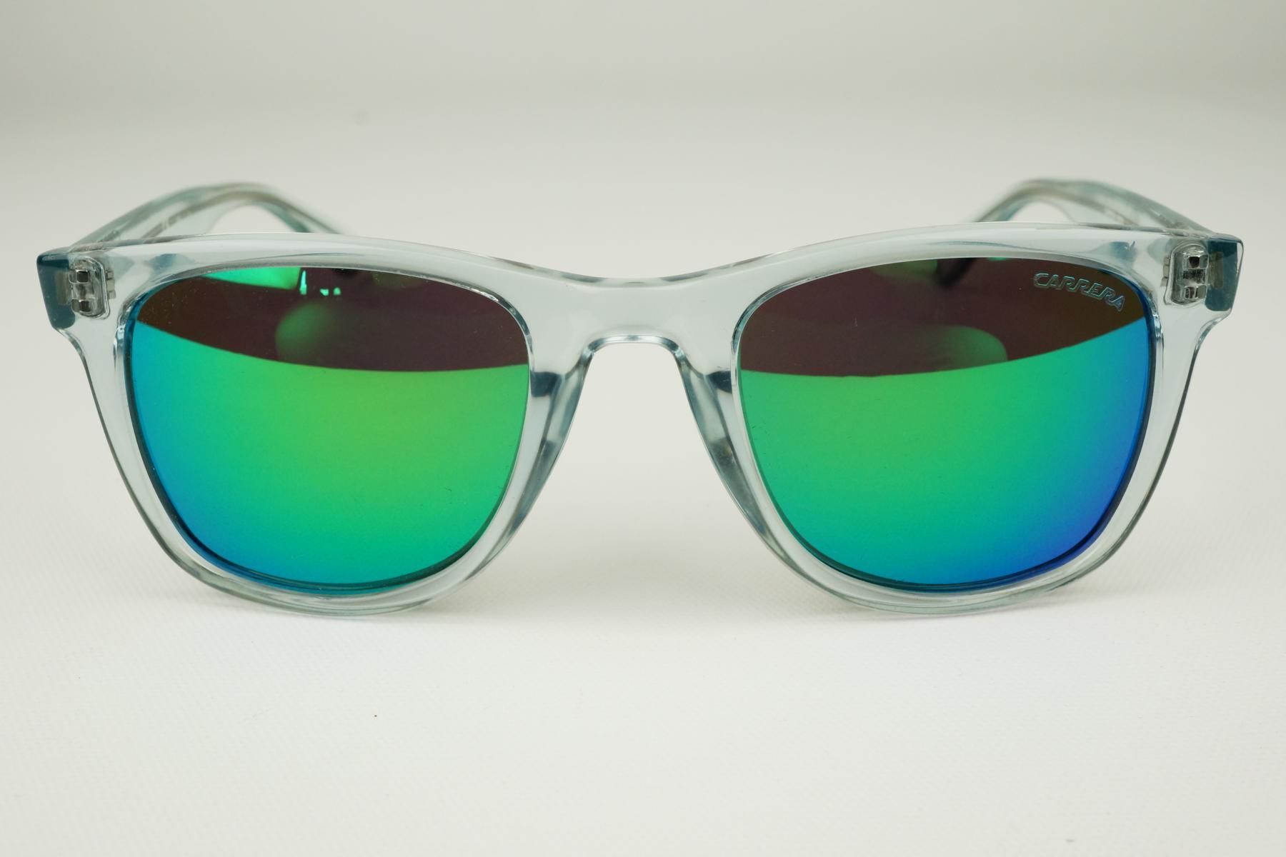 carrera sonnenbrille luxusbrille durchsichtig gr n. Black Bedroom Furniture Sets. Home Design Ideas