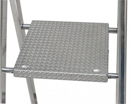 krause solido stufen stehleiter 8 stufen leiter haushaltsleiter ebay. Black Bedroom Furniture Sets. Home Design Ideas