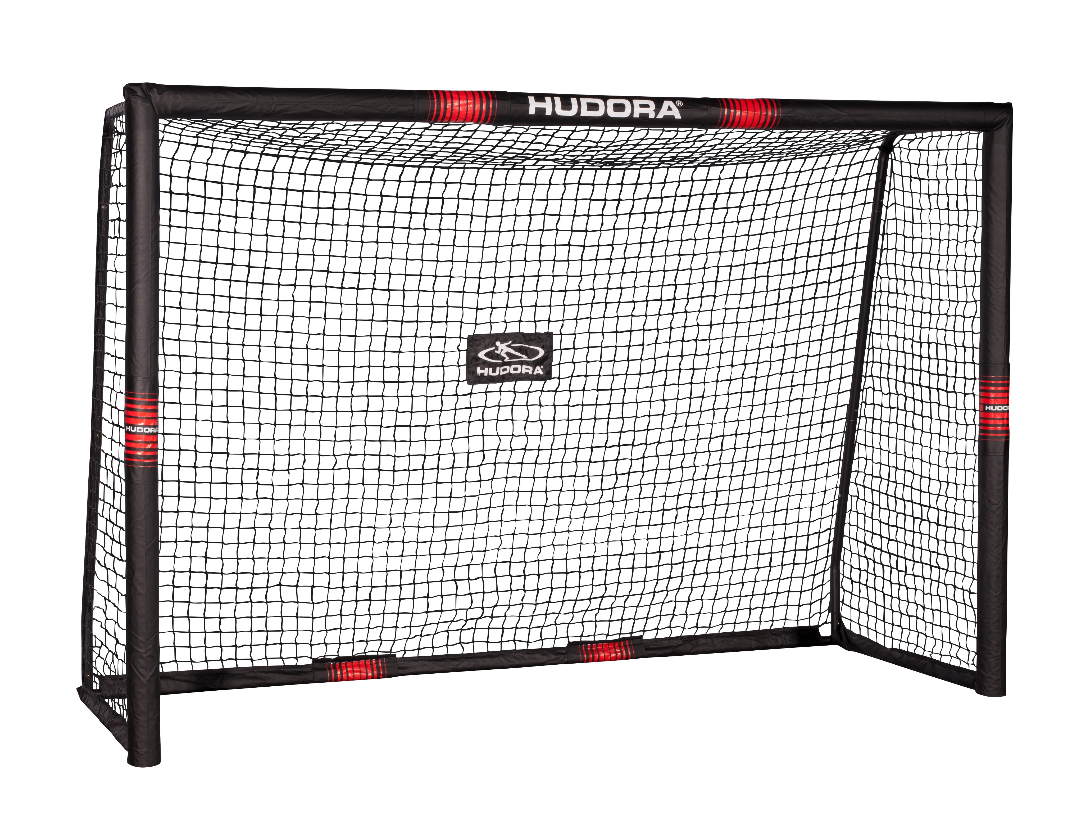 hudora 76914 fu balltor pro tect 240x160x85 ebay. Black Bedroom Furniture Sets. Home Design Ideas