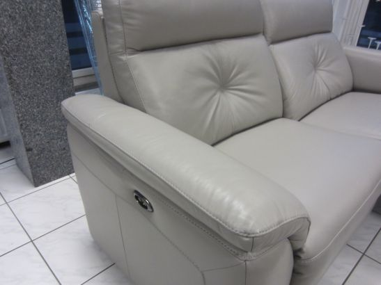 divanotti sofa 3 2 1 leder porzellan mit elektrische funktion ebay. Black Bedroom Furniture Sets. Home Design Ideas