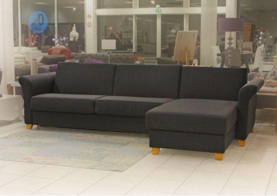 rapido schlafecksofa mit kaltschaummatratze 160x200 cm. Black Bedroom Furniture Sets. Home Design Ideas