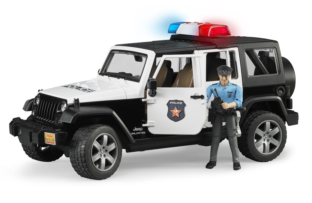 Polizei jeep wrangler unlimited rubicon mit polizist 02526 for Garage jeep luxembourg