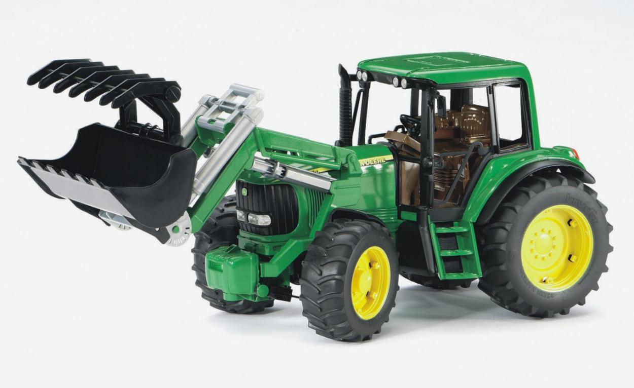traktor john deere 6920 mit frontlader holztransport. Black Bedroom Furniture Sets. Home Design Ideas