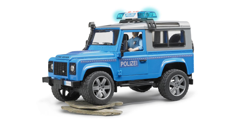 land rover defender polizeifahrzeug m polizist zubeh r. Black Bedroom Furniture Sets. Home Design Ideas