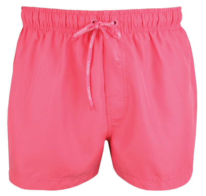 badehose badeshort trunk logo tape calvin klein ck pink gr m l xl wow. Black Bedroom Furniture Sets. Home Design Ideas