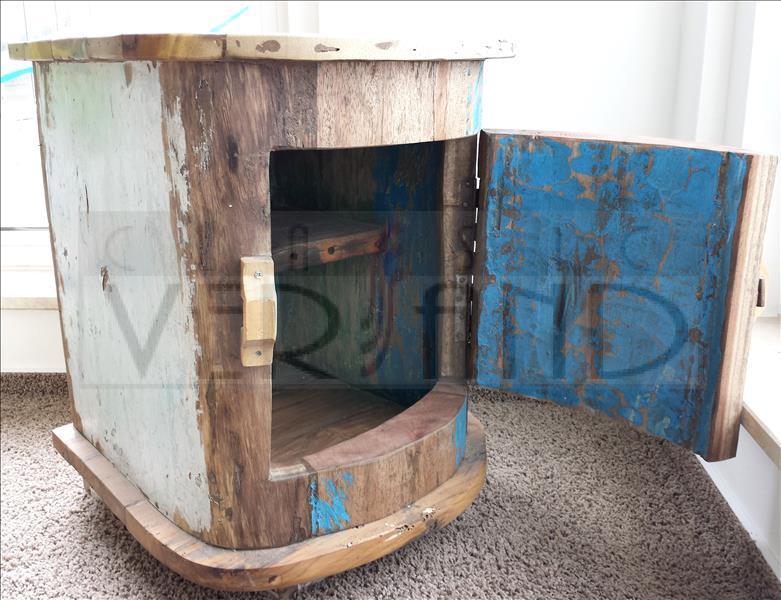 Obi Gartenmobel Polster : Schrank Teakholz Schränkchen Recycling Massiv Kommode Teak Holz