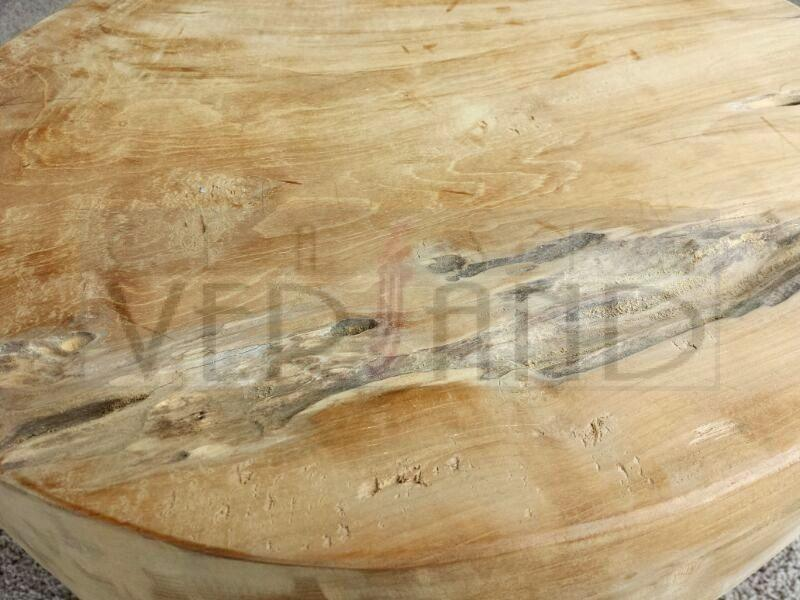 Teakholz Wurzel Tisch ~ Hocker Beistelltisch Tisch Teakholz Massiv Teak Holz Blumenständer Wurzel