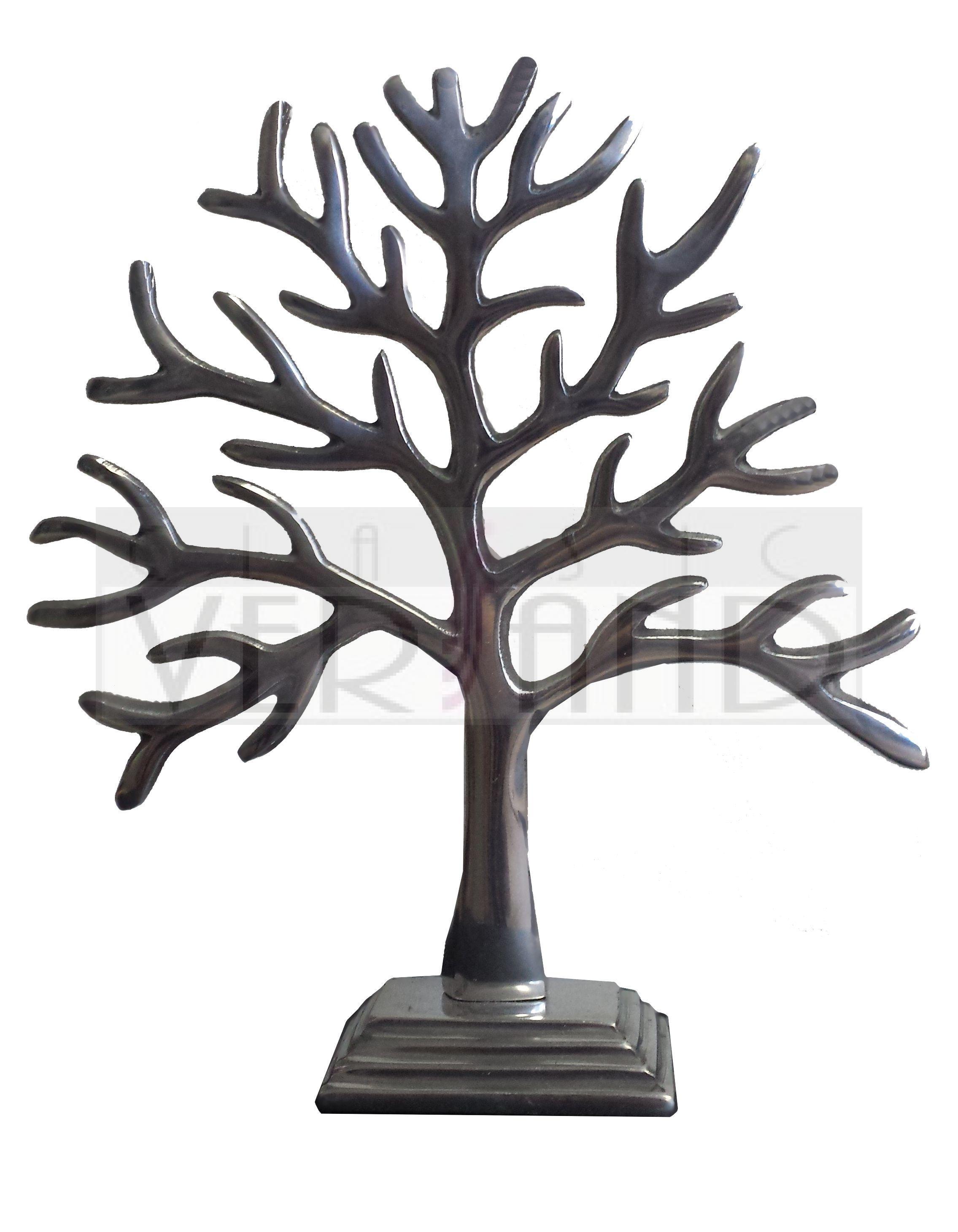 deko baum metall schmuckbaum schmuck silber dekoration ebay. Black Bedroom Furniture Sets. Home Design Ideas