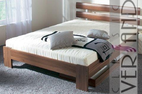 futonbett bett 180x200 cm inkl rost matratze 55 ebay. Black Bedroom Furniture Sets. Home Design Ideas