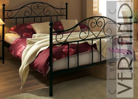 metallbett gestell bett 100 x 200 cm schwarz ebay. Black Bedroom Furniture Sets. Home Design Ideas