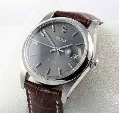 Rolex Datejust Leder