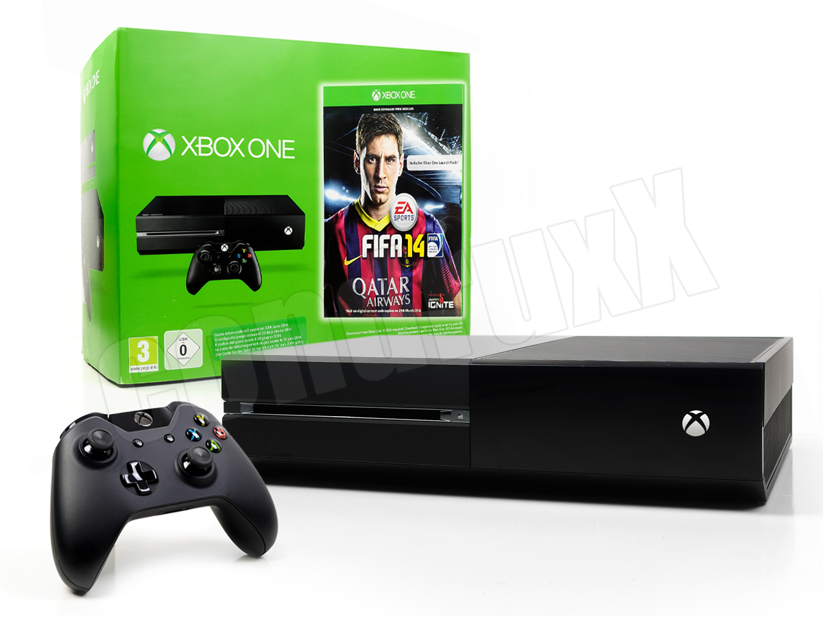 microsoft xbox one konsole 500gb mit fifa 14 controller. Black Bedroom Furniture Sets. Home Design Ideas