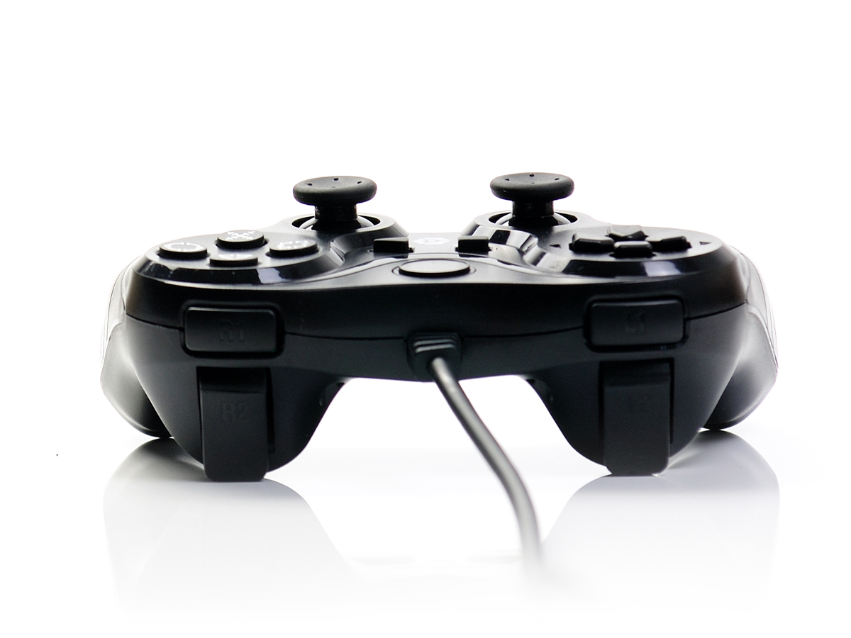 neu ps3 pc gioteck controller vx3 usb gamepad mit dual. Black Bedroom Furniture Sets. Home Design Ideas