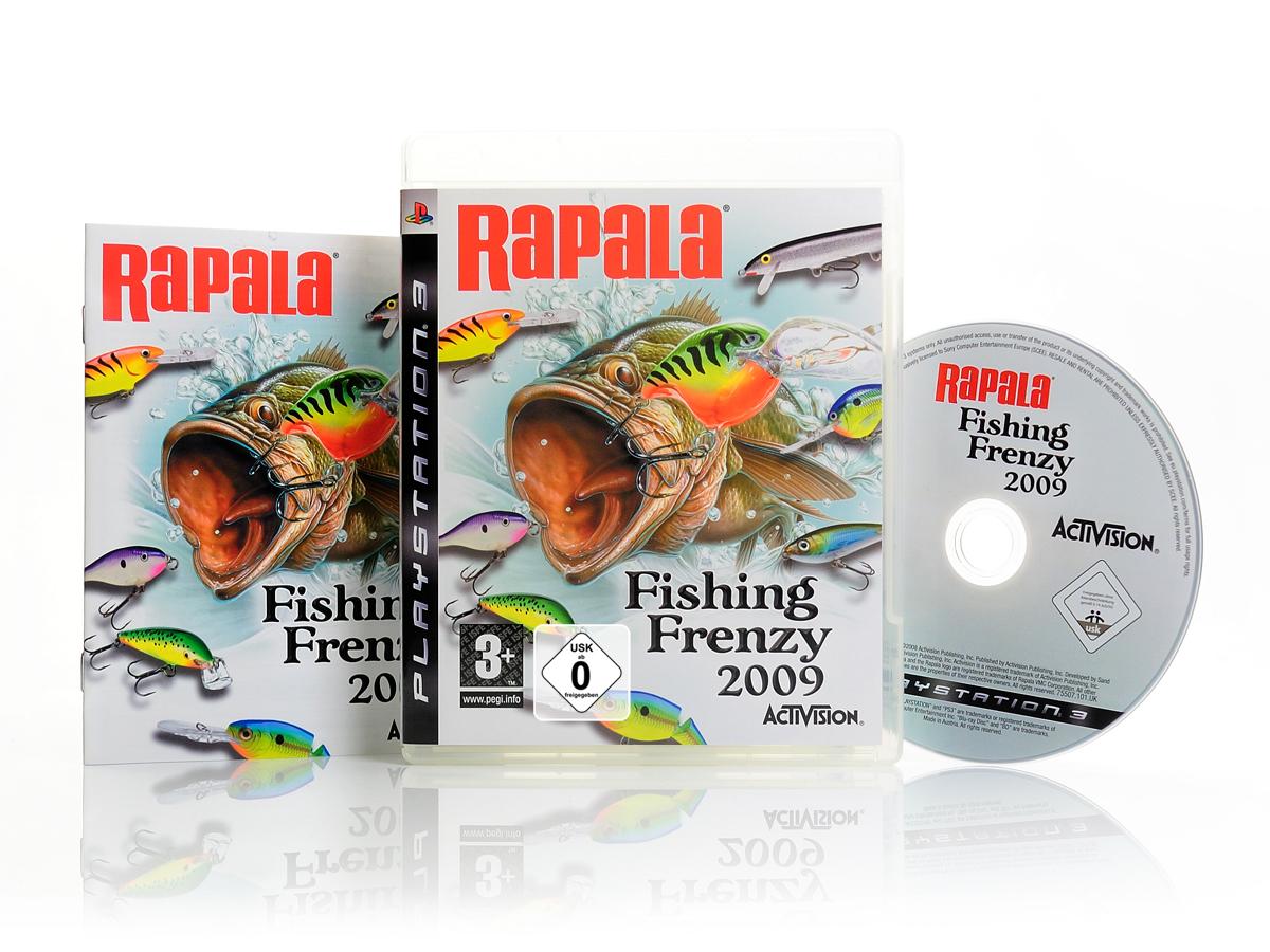 Neu ps3 spiel rapala fishing frenzy 2009 sportspiel for Rapala fishing frenzy 2009