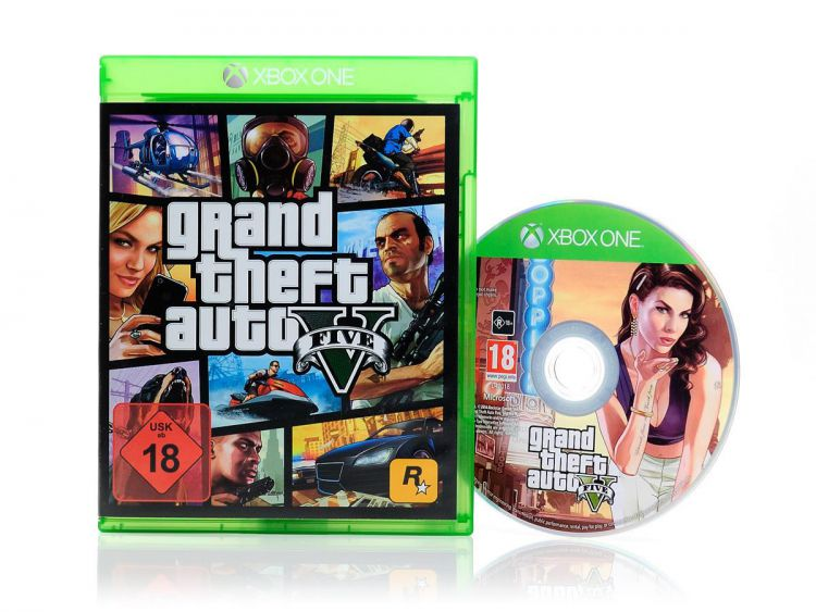 xbox one spiel grand theft auto v 5 gta action gangster. Black Bedroom Furniture Sets. Home Design Ideas