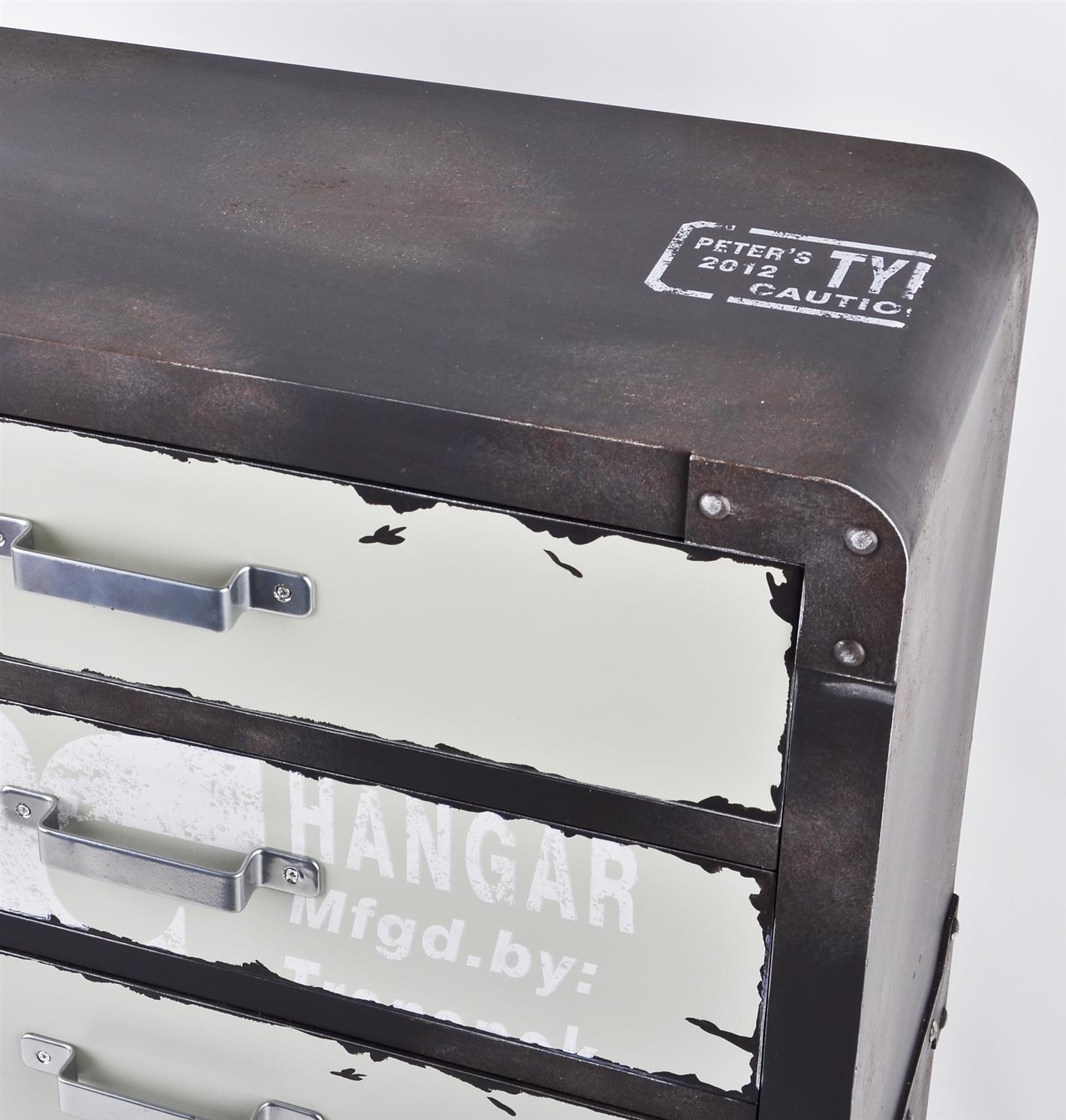 Kommode Industrial Vintage Design Schubladenkommode 6 ...