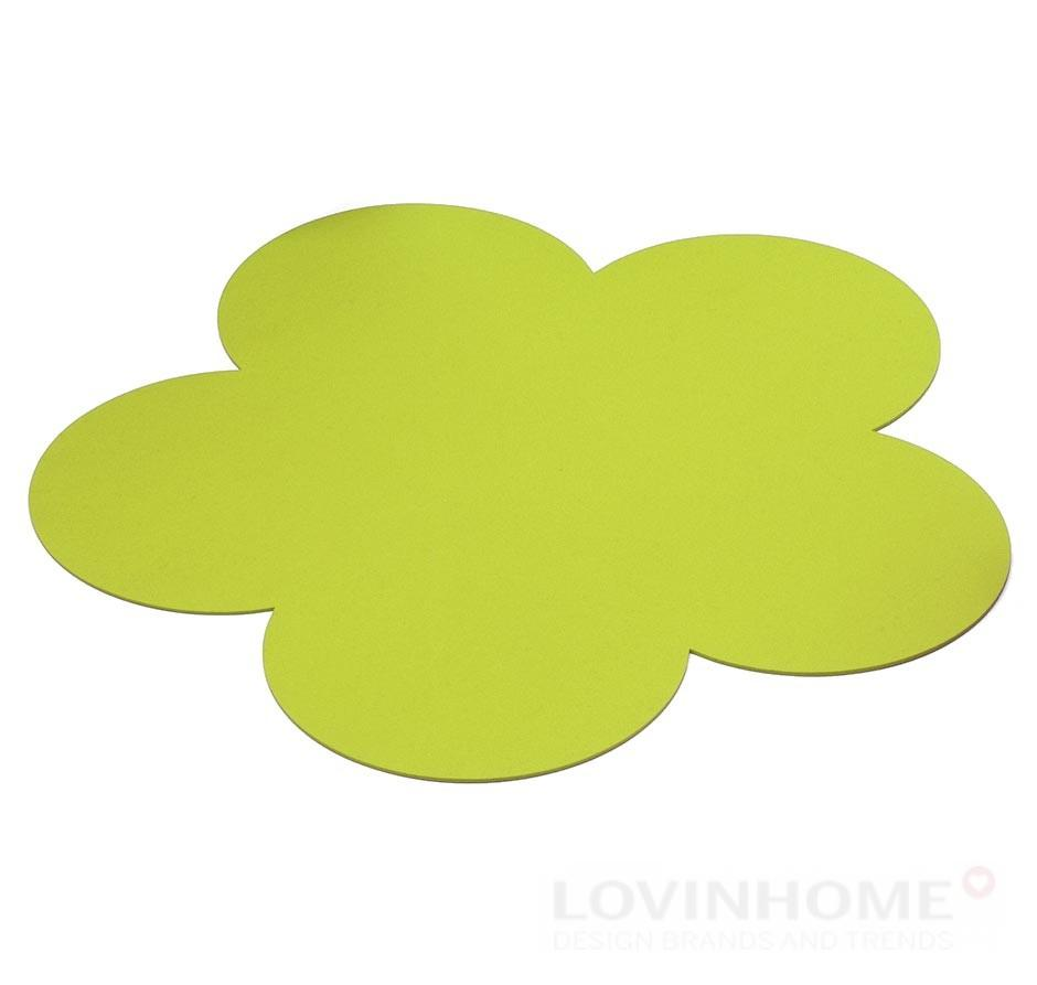 hey sign teppich filz blume verde ebay. Black Bedroom Furniture Sets. Home Design Ideas