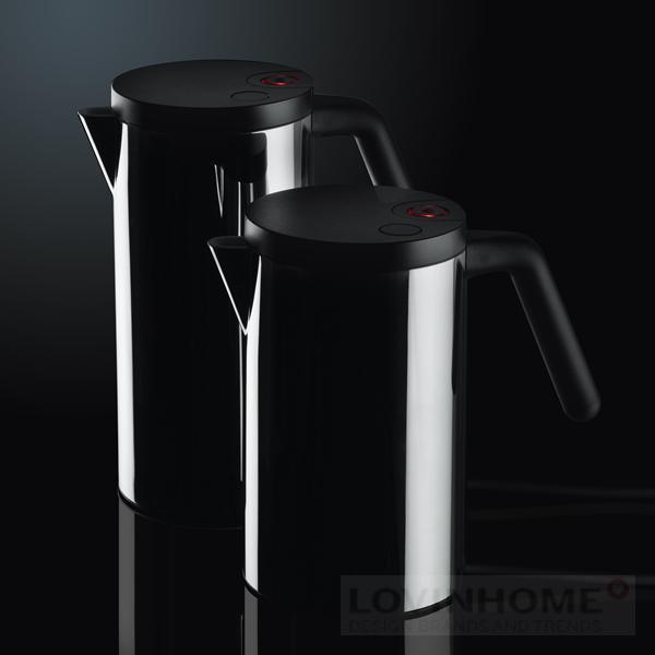 alessi hot it wasserkocher klein schwarz ebay. Black Bedroom Furniture Sets. Home Design Ideas