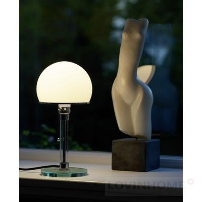 original tecnolumen wagenfeld wg 24 tischleuchte uvp 489 00 eur ebay. Black Bedroom Furniture Sets. Home Design Ideas