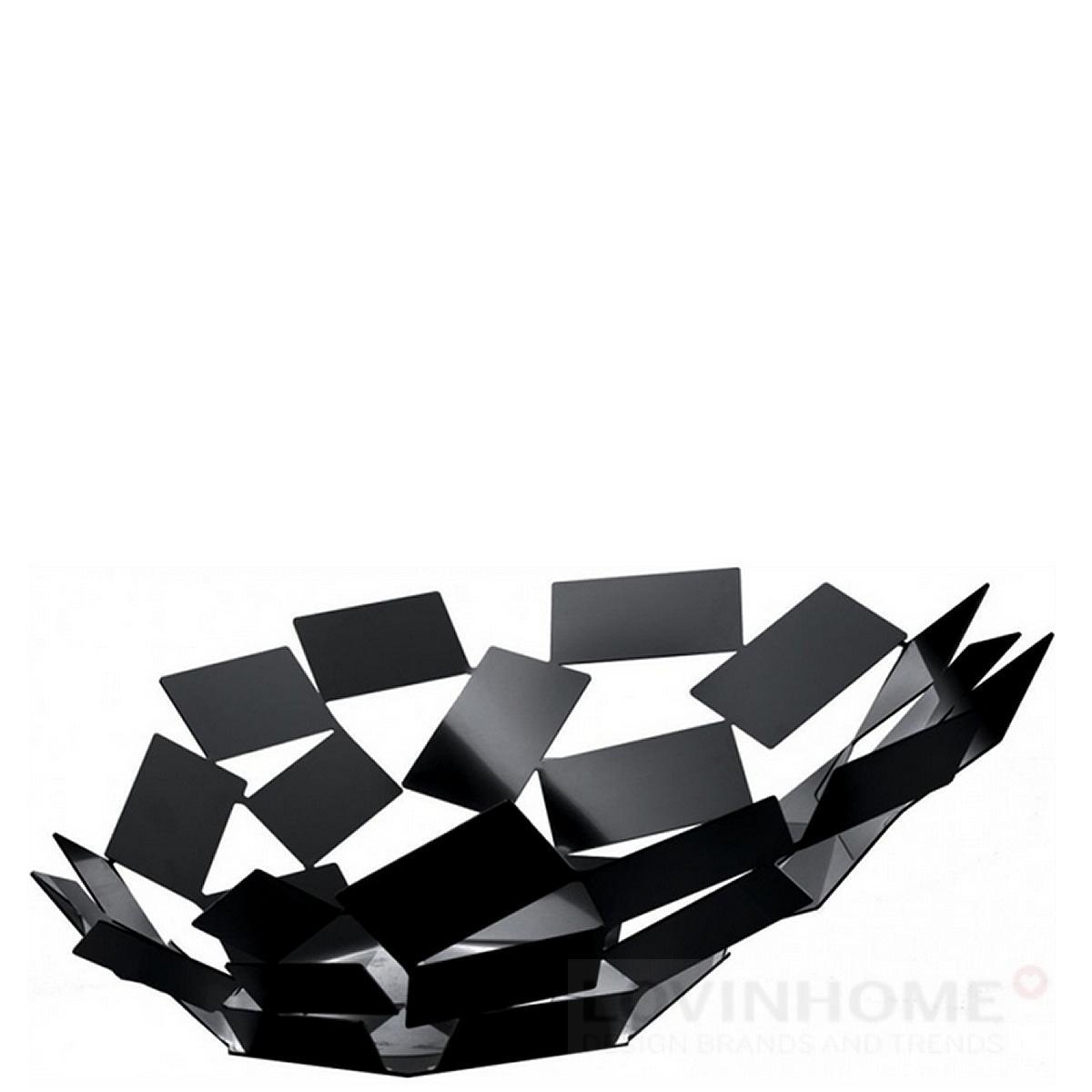 alessi la stanza dello scirocco obstschale schwarz ebay. Black Bedroom Furniture Sets. Home Design Ideas