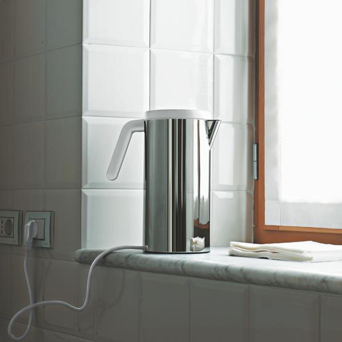alessi hotit wasserkocher wei uvp 129 00 eur ebay. Black Bedroom Furniture Sets. Home Design Ideas