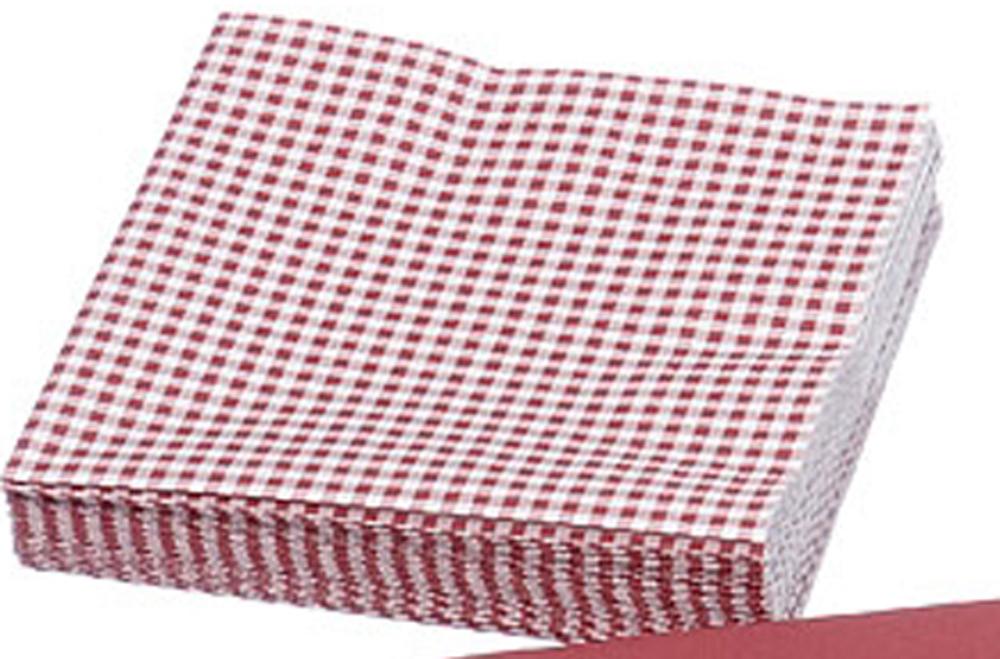 servietten rot weis kariert boltze 33x33 cm