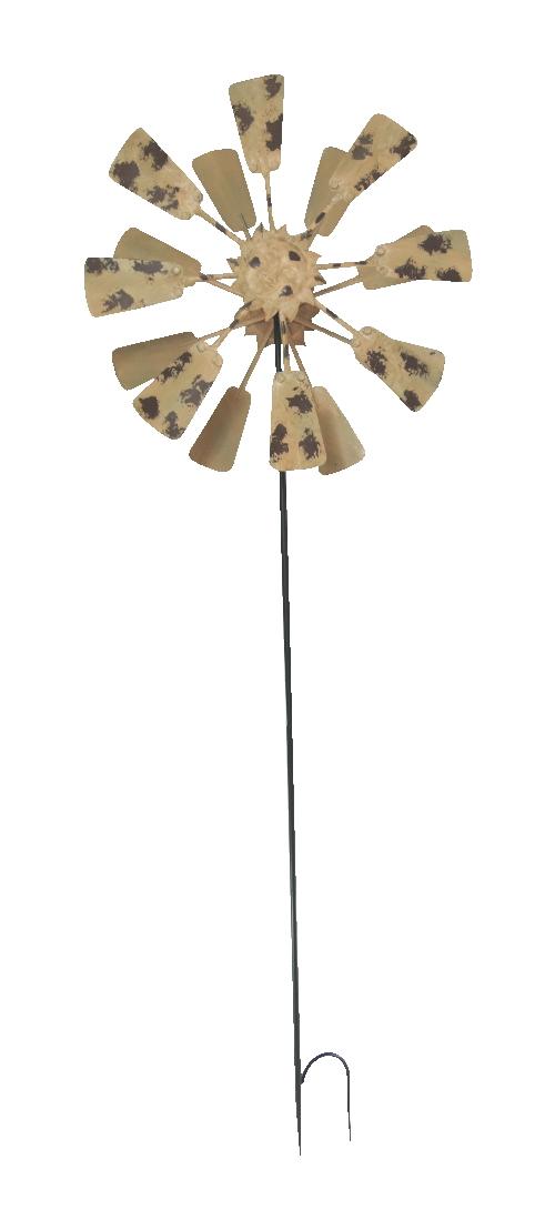 Metall windrad sonne xxl 186cm windspiel for Metall sonne gartendeko