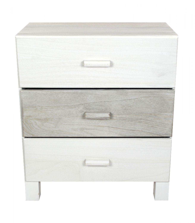 holz kommode wei grau schrank mit schubladen maserung 730750726829 ebay. Black Bedroom Furniture Sets. Home Design Ideas