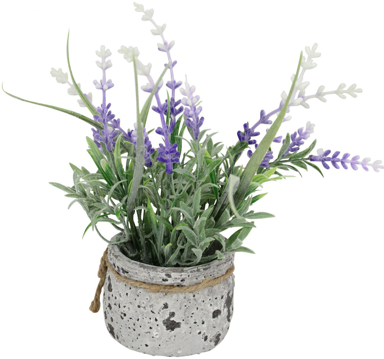 kunstpflanze lavendel im topf 18cm kunstblume k nstlich kunstlavendel ebay. Black Bedroom Furniture Sets. Home Design Ideas