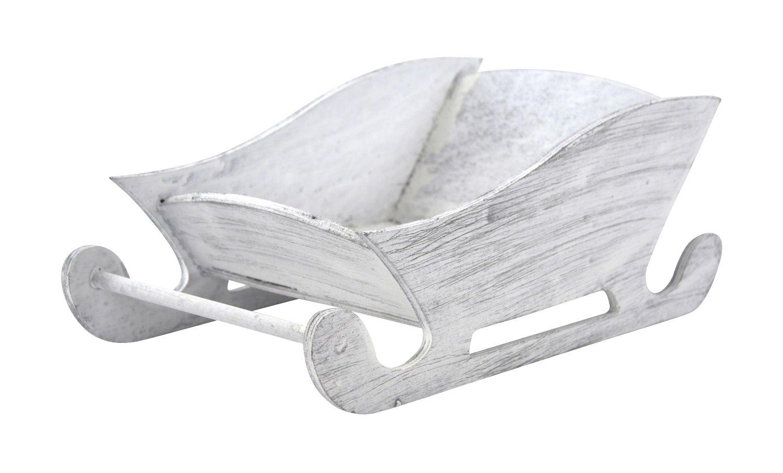 deko schlitten aus holz dekoschlitten weihnachtsdeko winterdeko fensterbank ebay. Black Bedroom Furniture Sets. Home Design Ideas