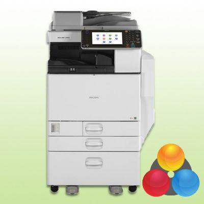 ricoh aficio mp c5502 drucker kopierer scanner fax mit 2. Black Bedroom Furniture Sets. Home Design Ideas