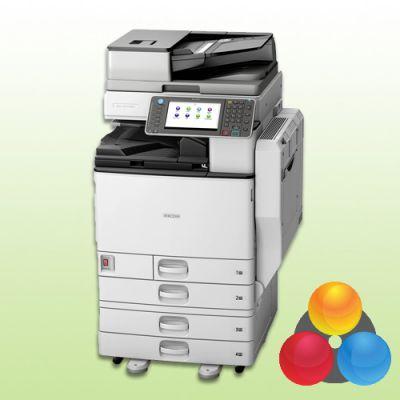 ricoh aficio mp c5502 4 pf kopierer drucker scanner fax. Black Bedroom Furniture Sets. Home Design Ideas