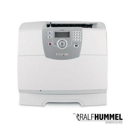 lexmark t640 laserdrucker drucker mit toner usb parallel s. Black Bedroom Furniture Sets. Home Design Ideas