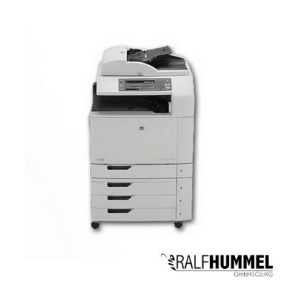 hp color laserjet cm6040f mfp kopierer drucker scanner fax usb mit toner a3 883585718214 ebay. Black Bedroom Furniture Sets. Home Design Ideas