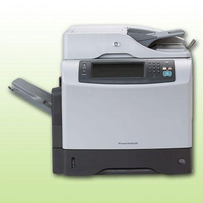 hp laserjet m4345 mfp laserdrucker kopierer scanner s w din a4 multifunktion ebay. Black Bedroom Furniture Sets. Home Design Ideas