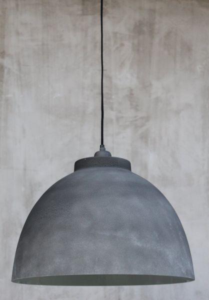 beton optik lampe industrielampe h ngelampe shabby landhaus vintage fabriklampe ebay. Black Bedroom Furniture Sets. Home Design Ideas