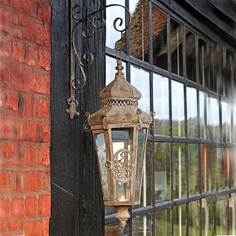 Wandlaterne terrasse garten laterne h ngen shabby vintage for Laterne terrasse