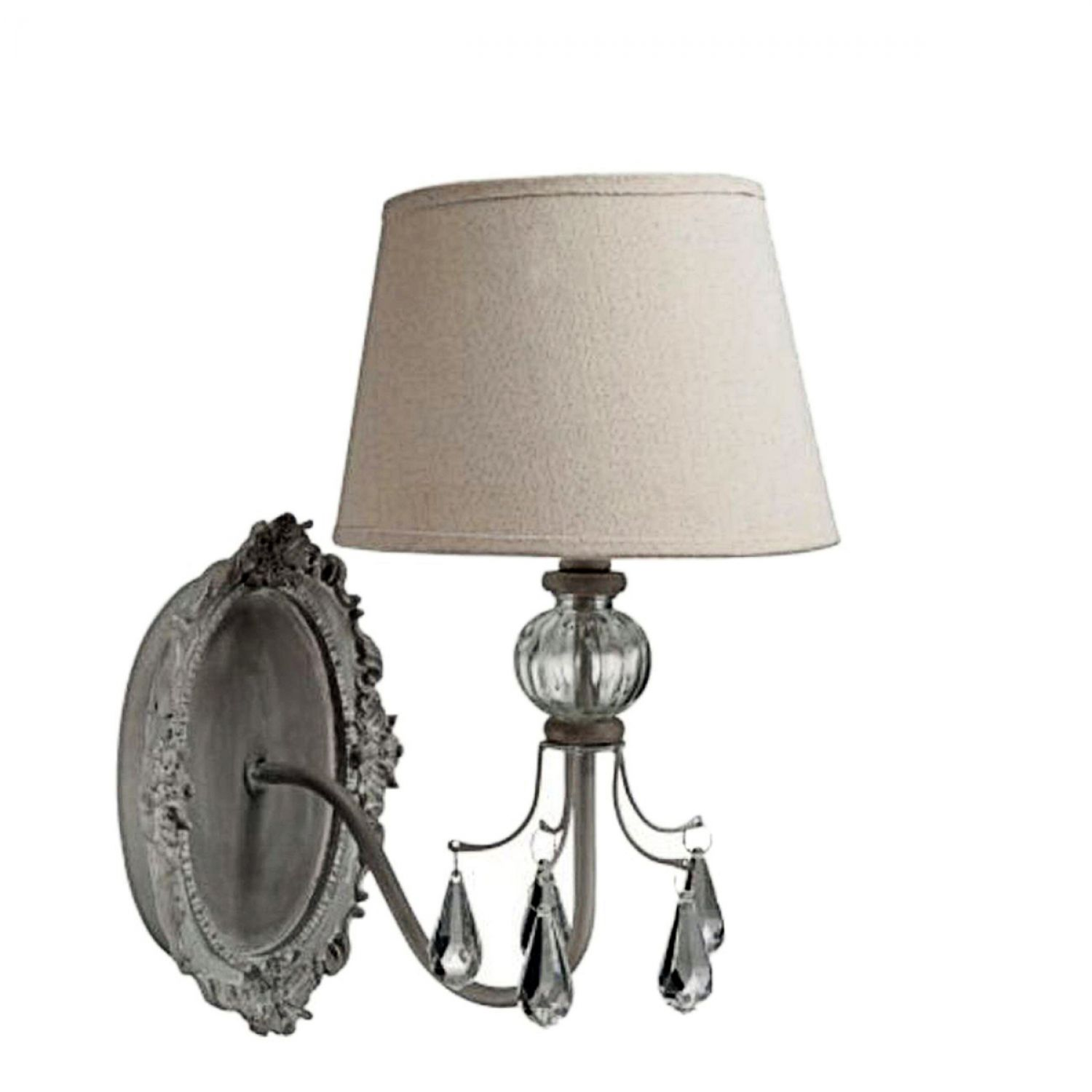 wandlampe wandleuchter antik vintage shabby landhaus wandleuchte wohnzimmer flur ebay. Black Bedroom Furniture Sets. Home Design Ideas