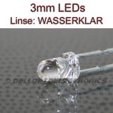 3mm LEDs GELB 7000 mcd
