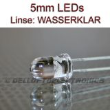 5mm LEDs WEISS 20000 mcd