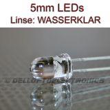 5mm LEDs ROT 16000 mcd