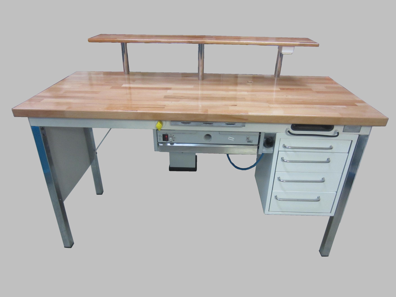 kavo einzelarbeitsplatz 1 er tisch mit absaugung nr. Black Bedroom Furniture Sets. Home Design Ideas
