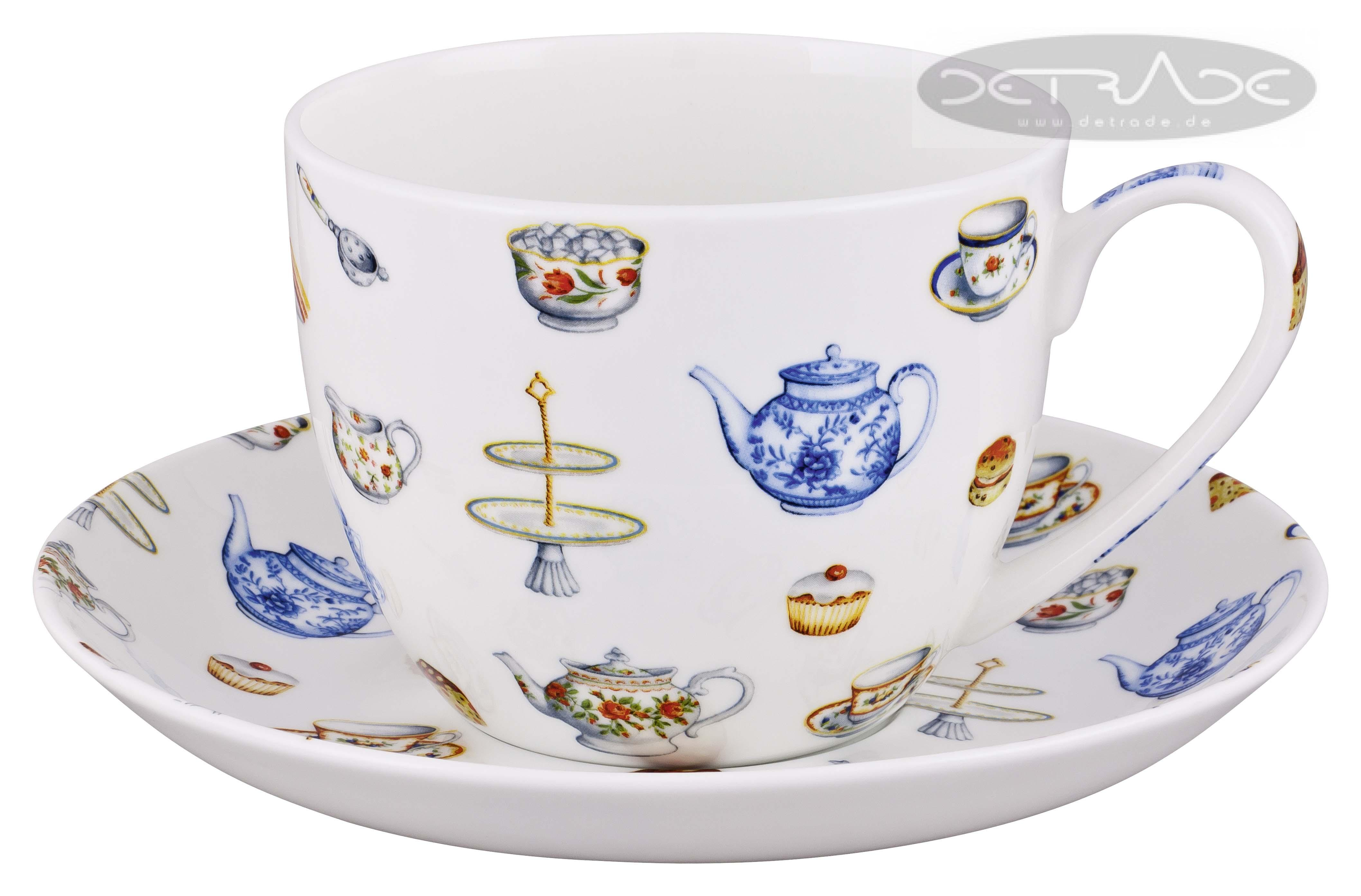 kitchen fine bone china jumbo tasse 0 45 l teetasse teebecher ebay. Black Bedroom Furniture Sets. Home Design Ideas