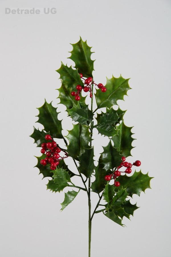 ilex zweig mit beeren weihnachtsdeko dekoration weihnachten ebay. Black Bedroom Furniture Sets. Home Design Ideas