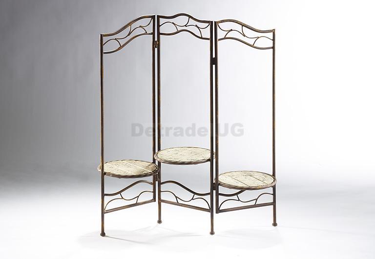 locker pflanzenst nder faltbar metall holz ebay. Black Bedroom Furniture Sets. Home Design Ideas
