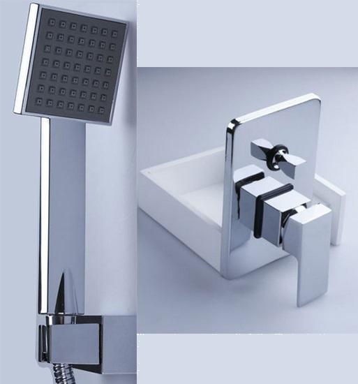 regendusche unterputz komplett set regenbrause tropenschauer dusch armatur 30cm ebay. Black Bedroom Furniture Sets. Home Design Ideas
