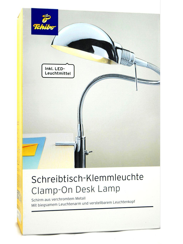 Tcm tchibo led schreibtisch klemmleuchte leuchte lampe for Schreibtisch tchibo