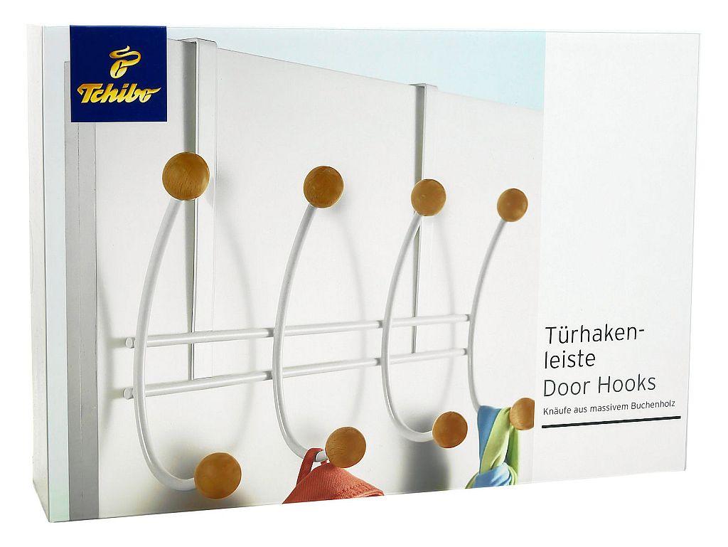 Tcm tchibo design t rhakenleiste garderobe kleiderhaken for Garderobe tchibo