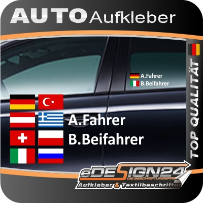 Import History Auto Racing on Fahrername Name Flagge Fahne Autoaufkleber Auto Sticker Racing   Ebay