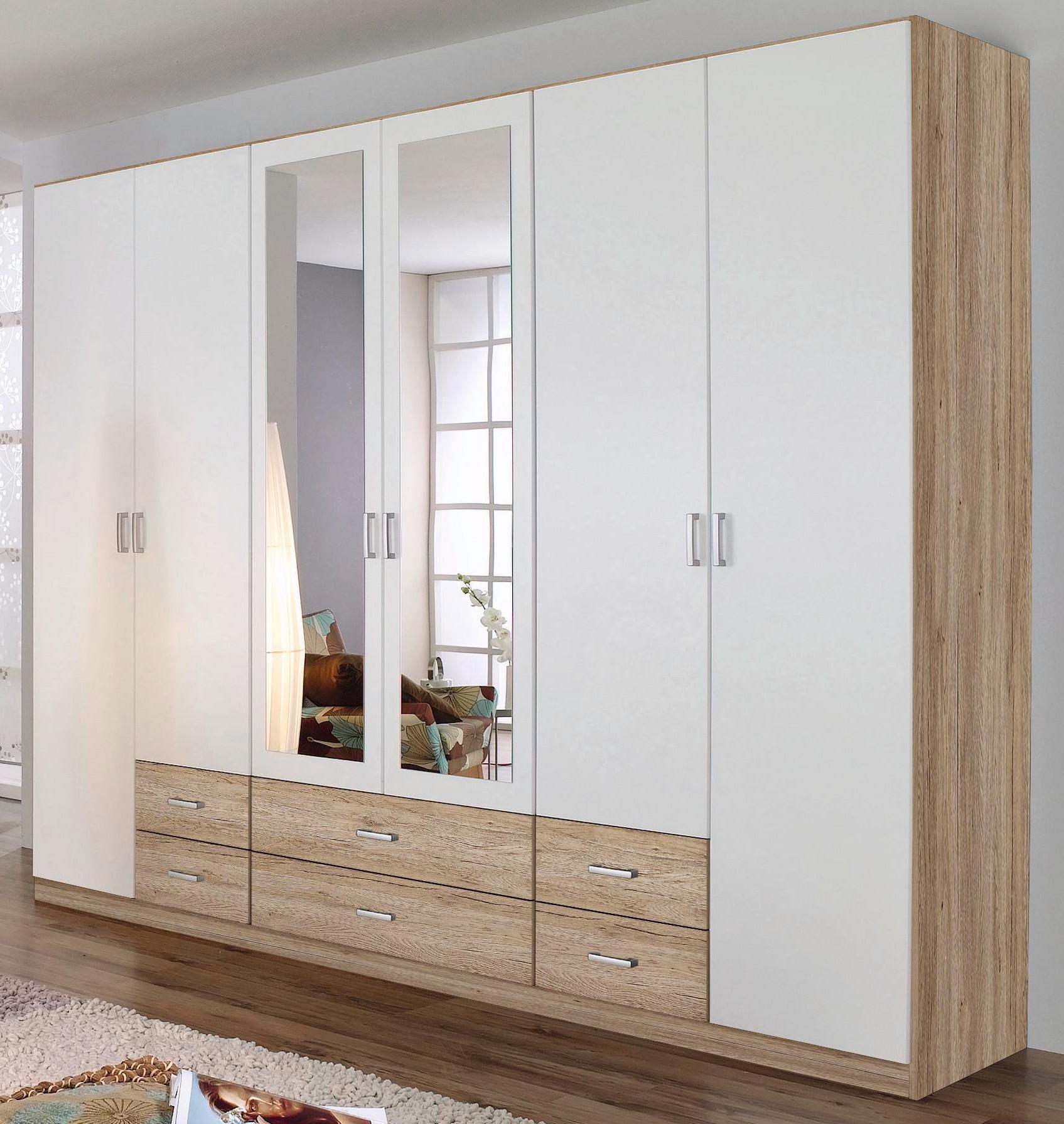 rauch dreht renschrank 6 t rig 6 schubk sten 6 farben kleiderschrank ebay. Black Bedroom Furniture Sets. Home Design Ideas